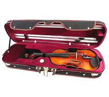 NEW VC950RB 4/4 Pro Enhaced Wooden Violin Case-I + free violin string-Limited