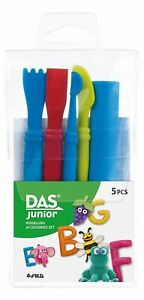 DAS Junior Modelling Clay Accessories Tool Set of 5