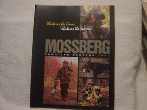MOSSBERG 2002 catalog