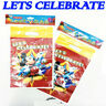 50 Party Bags Childrens Happy Birthday Plastic Loot Gift Bag Boys Girls Filler