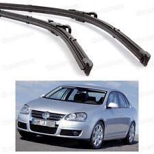 "24"" 19"" Car Windscreen Wiper Blade Bracketless for Volkswagen Jetta 2006-2010 A5"