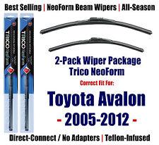 2pk Super-Premium NeoForm Wipers fits 2005-2012 Toyota Avalon 162613/2013