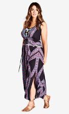 City Chic V-Neck Long Sleeve Dresses for Women