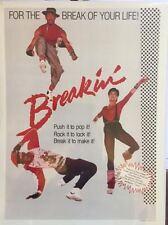 Breakin danse hip-hop film art imprimer 30x40cm