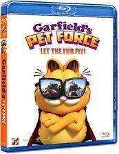 "Mark A.Z. Dippé ""Garfield's Pet Force 3D"" Cartoon HK Version Region A Blu-Ray"