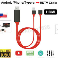 1080P HDMI cable phone to TV HDTV adapter for iPhone ios Android Samsung S9 S8