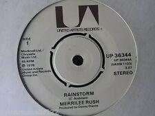 "VINYL 7"" SINGLE - RAINSTORM - MERRILEE RUSH - UP36344"