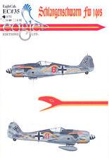 EagleCals Decals 1/72 FOCKE WULF Fw-190 SCHLANGENSCHWARM Aircraft