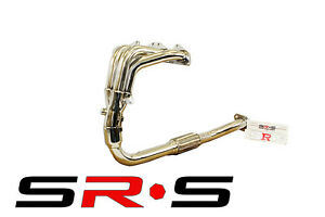SRS MITSUBISHI ECLIPSE 95-99 2.0L NON-TURBO STAINLESS STEEL HEADER SR*S T-304