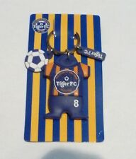 TIGER BEER Key Chain FC JERSEY Keychain Blue HOME SHIRT Malaysia 2010 Rubber