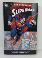 RETURN OF SUPERMAN Death of Saga  DC TPB Graphic Novel