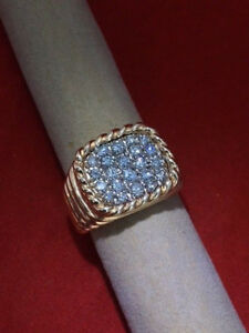 14k Yellow Gold Mens or Ladies Ring