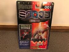 1999 Takara Microman 001 ~ Red Action Figure ~ New in Package