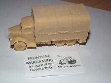 La segunda guerra mundial británico Austin K6 pesado camión Kit de modelo de resina-B4