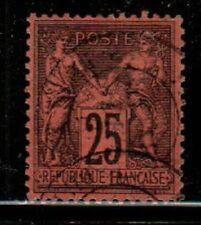 France Scott 93 Used (Catalog Value $25.00)