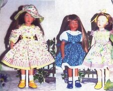 "Bloomers, dress Versions, hat sewing Pattern fits 16 ""Dolls Helen kish"