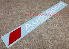 Audi Sport Quattro Windshield Decal Sticker RS3 RS4 A3 A4 TT Free Shipping x 1