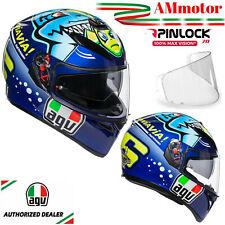 Casco Agv K3 Sv Misano 2015 Valentino Rossi TG XXL Max Pinlock Integrale Da Moto