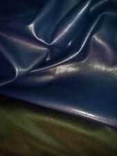 stop destock ! tissu skai , faux cuir, simili col bleu,