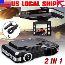 2in1 MFP 5MP Car DVR Recorder+Radar Laser speed Detector Trafic Alert English US