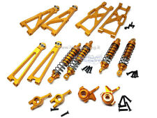 E10MST SET ERGAL KIT ALLUMINIO ORO TRUGGY MONSTER 1/10 E10 MT XT RICAMBI HIMOTO