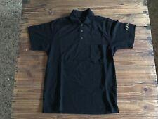 Polo GRAHAM Polo Shirt - New - Black Negro - M - Cotton - Watches Clothes