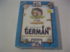 Lyric Language German new sealed Windows and Macintosh CD-ROM Penton Overseas