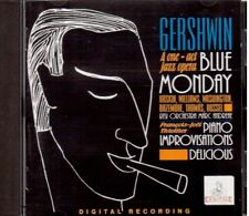 Gershwin: Blue Monday, Improvisations, Delicius / O.r.s., Thiollier, Andreae CD