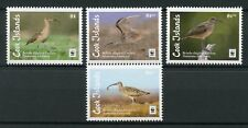 Cook Islands 2017 MNH Bristle-thighed Curlew WWF 4v Set Curlews Birds Stamps