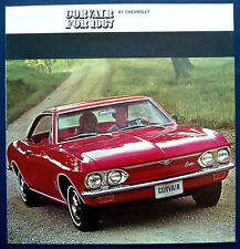 Prospectus brochure 1967 CHEVROLET CORVAIR (USA)