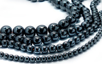 4mm, 6mm, 8mm & 10mm Non-Magnetic Round Hematite Beads