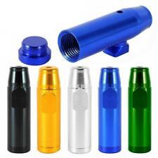1PC Snuff Bullet Bottle Metal Rocket Powder Dispenser Snorter Snuffer Vial Tube