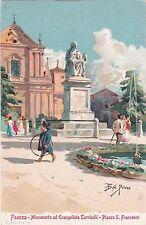 FAENZA - Monumento ad Evangelista Torricelli - Piazza San Francesco - Dal Pozzo