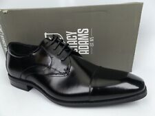 Stacy Adams Fitzgerald Cap Toe Leather Loafers, Men's SZ 10.0 M, Black NEW 15737