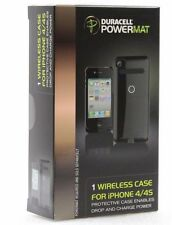3 Duracell Powermat Wireless Battery Cases for iPhone 4/4S  - Black