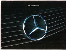 Mercedes-Benz SL 1989-92 UK Market Sales Brochure Portfolio 500 300-24 300