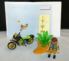 Playmobil 4426 Racing Offroad bike / rally motorcycle