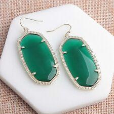 Kendra Scott Danielle Earrings In Green New 0803-17
