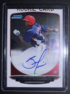 BRIAN GOODWIN RC AUTO 2013 Bowman Chrome Prospects - White Sox Rookie Autograph