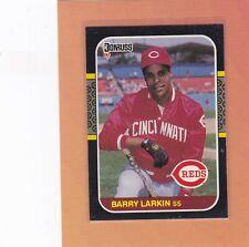 1987 DONRUSS BASEBALL BARRY LARKIN ROOKIE #492 REDS NMMT *64516