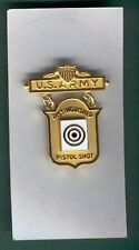 Distinguished Army Pistol Medal Qualification
