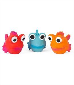 Coastal Rascals Latex Toy Goldfish Asst Colors  Free Shipping