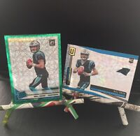 Will Grier Rookie Card Lot! Green Velocity Rated  & Unparalleled /135 RARE!!