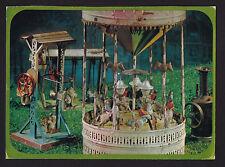 1969 Hallmark old Carousel mechanical Toys continental postcard