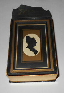 Vtg The Arrow Playing Card Company Cards w/ Picture Frame Sealed w/ Stamp RARE