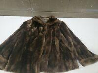 Vintage N.L. Kaplan Sheered Lamb Sheepskin Fur Coat (h100)