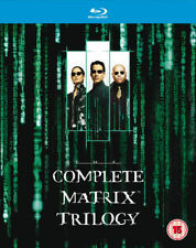 The Complete Matrix Trilogy BLU-RAY Set BRAND NEW 2008