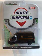 Greenlight 1/64 .RAM Promaster UPS .  Version US  Fiat Ducato/ Peugeot Boxer.