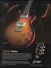 The Bill Collings 360 electric guitar 2009 ad 8 x 11 advertisement print 1c