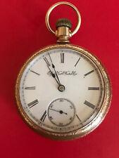 Gr 43 11 Jewel Runs Nice! New listing Antique 1894 Elgin Pocket Watch